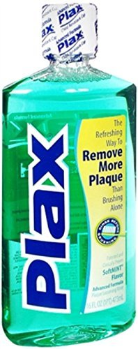 - Plax Dental Rinse Soft Mint 16 oz (Pack of 3)