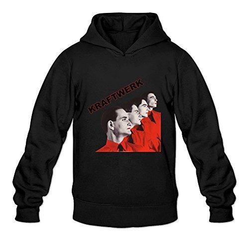 Seico Men Kraftwerk Band Hoodie Black Size (Autobahn Backpack)