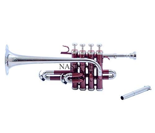 Nasir Ali PiTr-02, Piccolo Trumpet, Bb, Red and Nickel