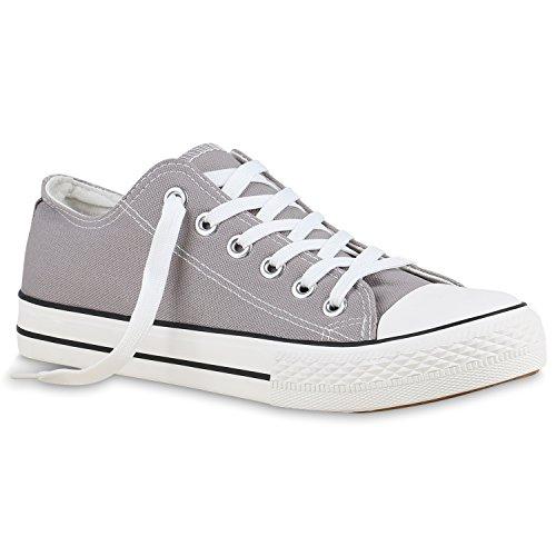 Stiefelparadies - Zapatillas Mujer , color Blanco, talla 41 UE