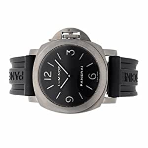 Panerai Luminor Base mechanical-hand-wind mens Watch PAM 176 (Certified Pre-owned)