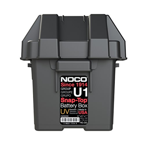 noco snap top battery box instructions