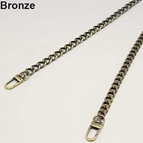Shoulder cm Handle Golden Bronze Crossbody Chain LBOJA Purse Metal Replacement Handbag 120 Light Strap Bag wfqxtIOPt1