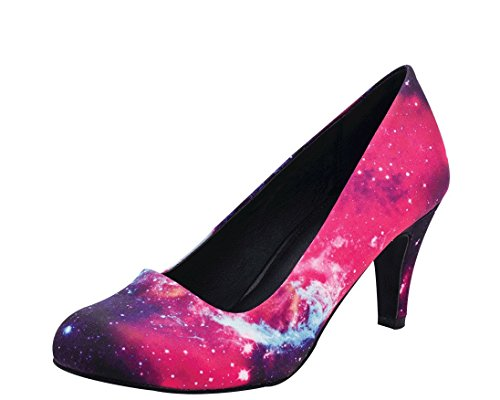 Galaxy Pumps (T.U.K. Women's A8541L Slide Pump,Galaxy,6 M US)
