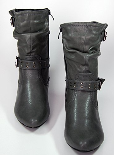Zapatos Haiki gris para mujer corte de qBxCwqaWg