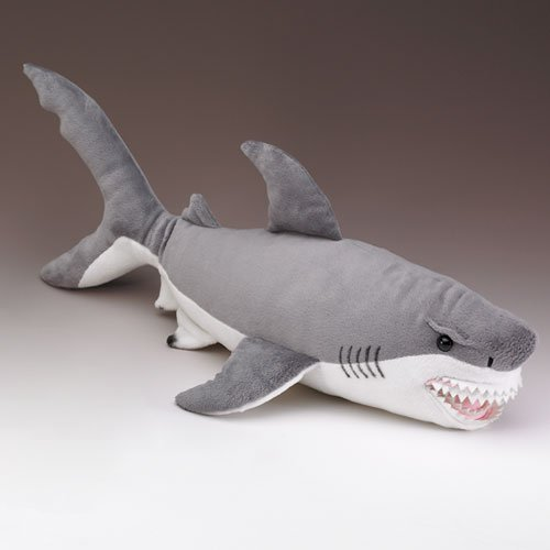 Wildlife Artists Great White Shark Stuffed Animal, X-Large ()