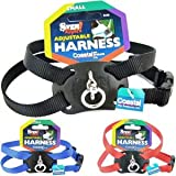 Size Right Adjustable Harness – Dog Harness – Blue – Girth 18″ to 24″, Width 5/8″, My Pet Supplies