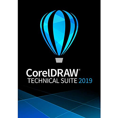 CorelDRAW Technical Suite 2019 - Technical Illustration & Drafting Software - Upgrade [PC - Software Graphics