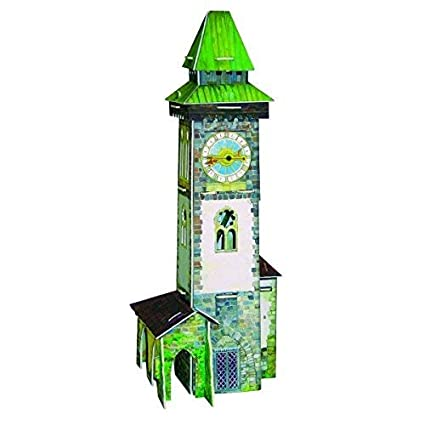 Buy CLEVER PAPER Puzzle 3D Mockup Carton Medieval Tower with