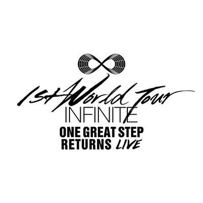 Infinite [ One Great Step Returns Live Album ] Two CDs and Booklet Sealed by Synnara Record