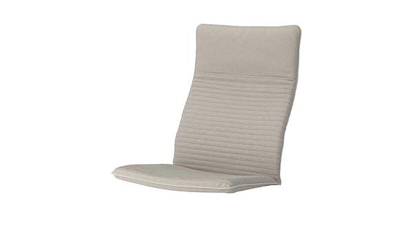 IKEA poang cojín para sillón, knisa Beige Claro: Amazon.es ...