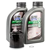Tusk 4-Stroke Oil Change Kit Bel-Ray EXS Full Synthetic Ester 10W-50 - Fits: Polaris Ranger 400 2010-2014