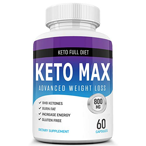 Best Keto Max Diet Pills from Shark Tank - Ketogenic Keto Weight Loss Pills for Women and Men - Keto Diet Supplement BHB Salts - Ketosis Keto Supplement Weight Loss - Keto Pills Weightloss 60 Capsules