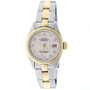 Rolex Datejust Ladies 2-Tone Gold/Steel Original Jubilee Dial 26MM Watch 69173