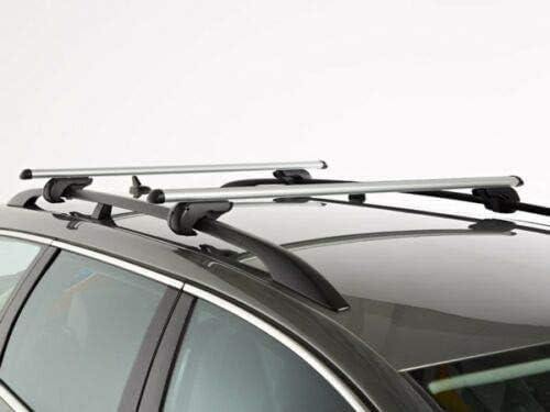 18 con corrimano Generico Barre portatutto Portapacchi Auto 1C Brio Alluminio per T-Cross