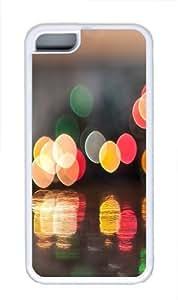 Cup Of Bokeh Custom iPhone 5C Case Cover TPU White