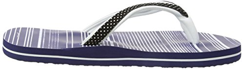Animal Swish Slim Top Aop Sandalias Para Mujer Sailor Blue