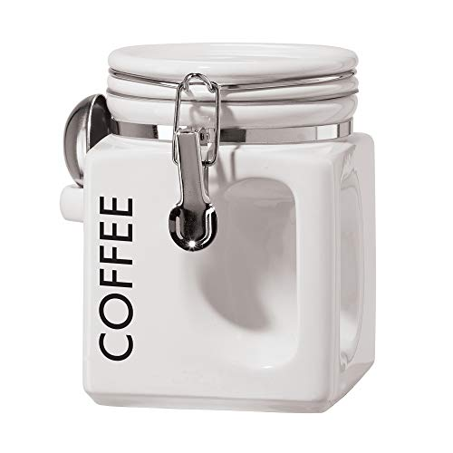 Oggi 5832.1 EZ Grip Coffee Canister, White