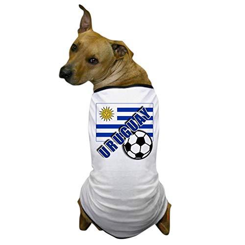 - CafePress Uruguay Soccer Team Dog T Shirt Dog T-Shirt, Pet Clothing, Funny Dog Costume