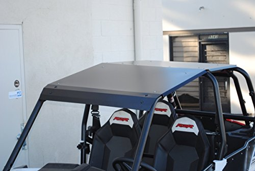 2014-2019 Polaris RZR XP 1000 and Turbo 4 Door Black Aluminum Roof