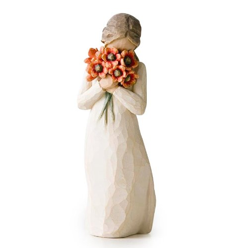Willow Tree hand-painted sculpted figure, Surrounded by Love