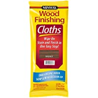 Minwax 30823 Wood Finishing Clothes, Walnut, 8-Pack by Minwax