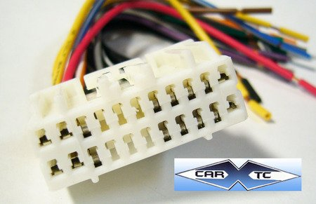 41d6 d7JMVL amazon com stereo wire harness oem dodge charger 06 2006 no nav Dodge Factory Radio Wiring Diagram at alyssarenee.co