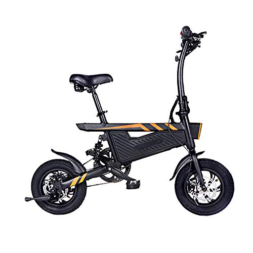 ZIYOUJIGUANG Folding Electric Bicycle E-Bike Electric Scooter 250W Ebike with 18 Mile Distance, Long Battery Range- US Shipping
