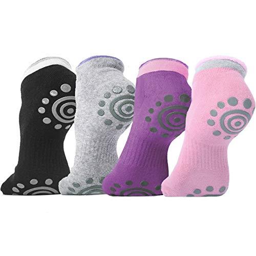 - DubeeBaby Yoga Socks, Women's Non Slip Anti-Skid Pilate Grip Socks(SUN SERIES) (4Colors)