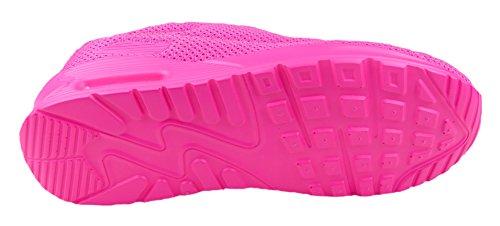 gibra - Zapatillas de tela para mujer Rosa