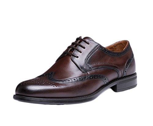 LEDLFIE Chaussures en Cuir pour Hommes Chaussures D