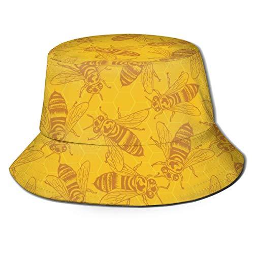 Honey Bees In Honeycomb...