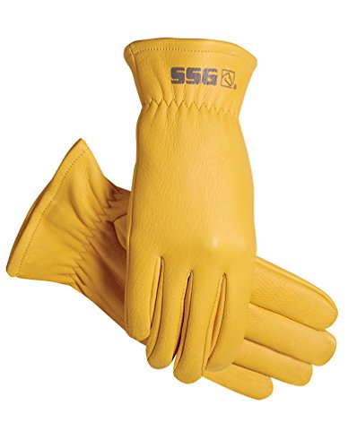 SSG DEERSKIN RANCHER GLOVES SOFT COMFORTABLE DURABLE ALL SIZES