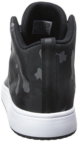 Adidas Originals Heren Veritas Mid Zwart / Witte Sneaker 8 M