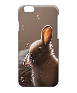 VUTTOO Iphone 6 Case, Cute Bunny Soap Bubbles Rugged PC Plastic Hard Case for Apple iPhone 6 4.7 Inch by ruishername