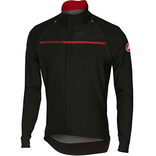 Castelli Perfetto Convertibile Jacket - Men's Black, (Castelli Cycling Jacket)