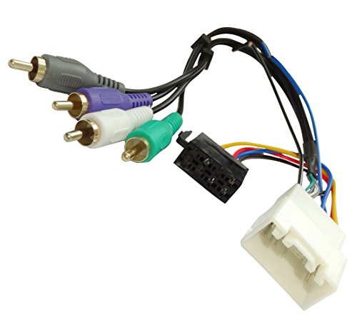 Aerzetix: Car Radio Cable Adapter, Active Preamplifier Harness Connector, C16571: