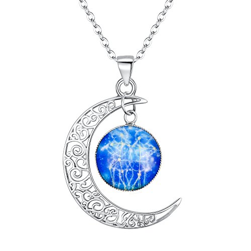 BriLove 925 Sterling Silver Necklace for Women -