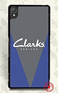 Sony Xperia Z3 Funda Vivid Printed For Clarks Brand Logo Sony Xperia Z3 Funda Scratch Proof Plastic Back Cover, WoodcaseStory