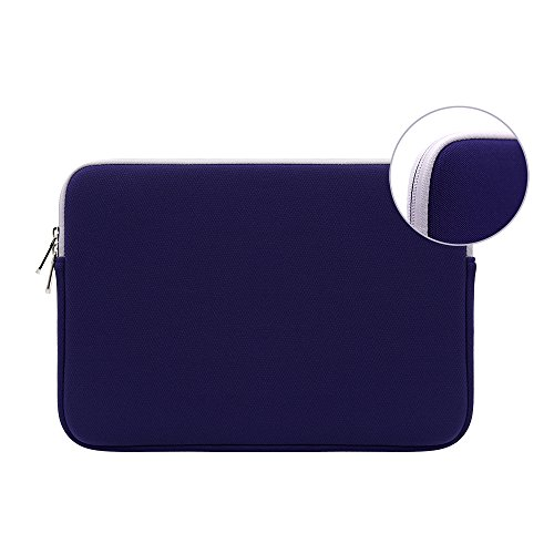 RAINYEAR 15 Inch Neoprene Laptop Sleeve Waterproof Protective Soft Slim Fit Padded Bag Cover Case Specially Used for for 15