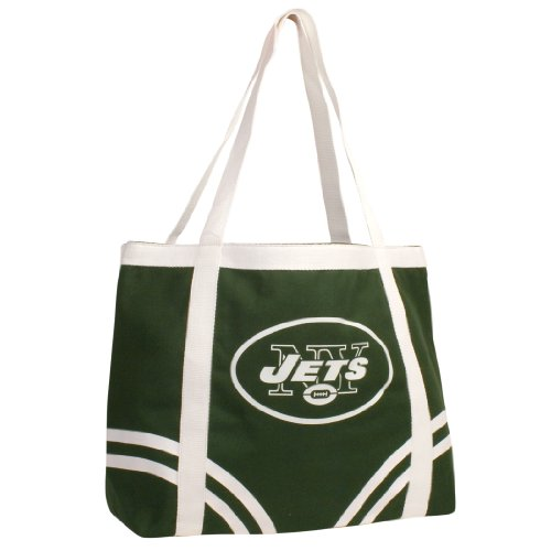 NFL New York Jets Canvas Tailgate Tote