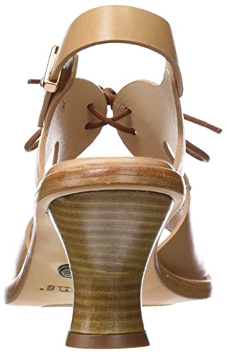 Marron Ouvert S980 Restored Wood Wood Bout Femme Neosens Skin Sandales Negreda 7zww4q