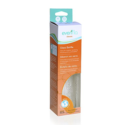 (Evenflo Classic Glass Nurser 8 oz (Discontinued by Manufacturer))