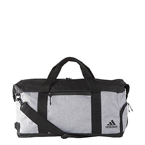 adidas Unisex Sport ID Duffel, Light Onix/Black, One