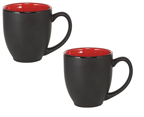 red and black coffee cups - 4