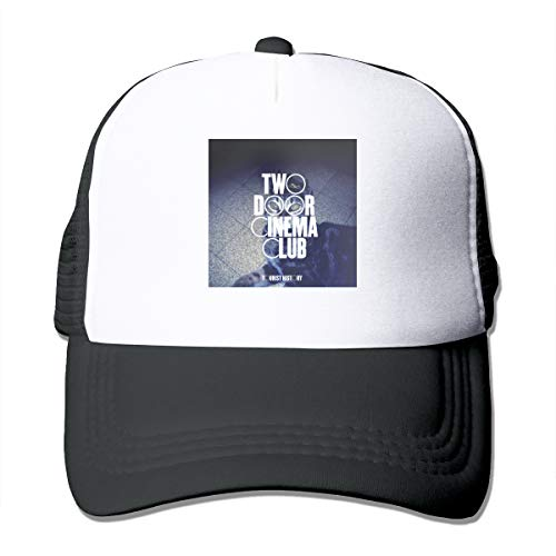 BobBThorpe Unisex Two Door Cinema Club Tourist History Music Theme Hat Adjustable Baseball Cap,Sun Hat,dad Hat,Truck ()
