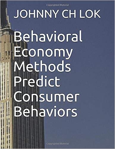 Descargar Elite Torrent Behavioral Economy Methods Predict Consumer Behaviors Archivos PDF