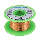 "BNTECHGO 28 AWG Magnet Wire - Enameled Copper Wire - Enameled Magnet Winding Wire - 4 oz - 0.0122"" Diameter 1 Spool Coil Natural Temperature Rating 155℃ Widely Used for Transformers Inductors"