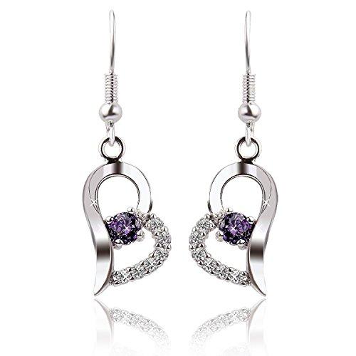 sealike-heart-shape-purple-rhinestone-925-sterling-silver-earrings-studs-eardrop-hoop-for-women-girl