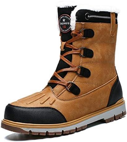 おしゃれ 登山靴 マーティンブーツ メンズ 滑り止め 安定感 裏起毛 プレゼント ハイカット 冬靴 スニーカーブーツ 厚い底 衝撃吸収 軽量 アウトドア 防寒対策 ハイキングシューズ 歩きやすい 防水 スノーブーツ